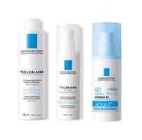 理膚寶水多容安化妝水+多容安乳液+水感清透防曬露