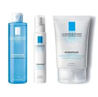 理膚寶水水感化妝水+全效超保濕精華+超保濕晚安凝膜