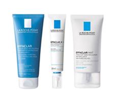 理膚寶水淨膚泥面膜+淨透煥膚精華+毛孔緊緻控油保濕乳